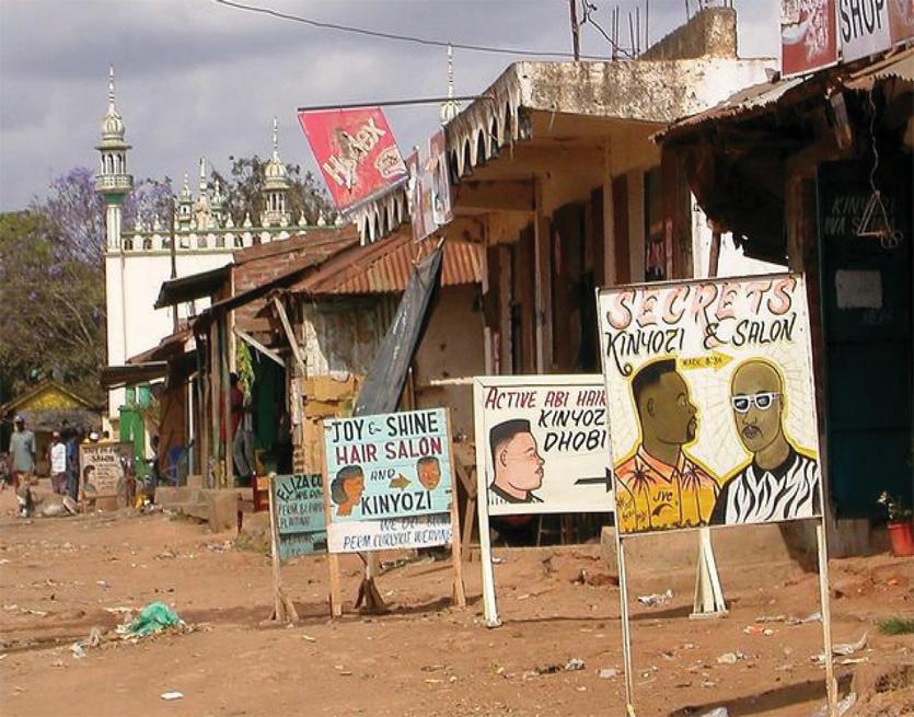 Costruire alla periferia di Nairobi